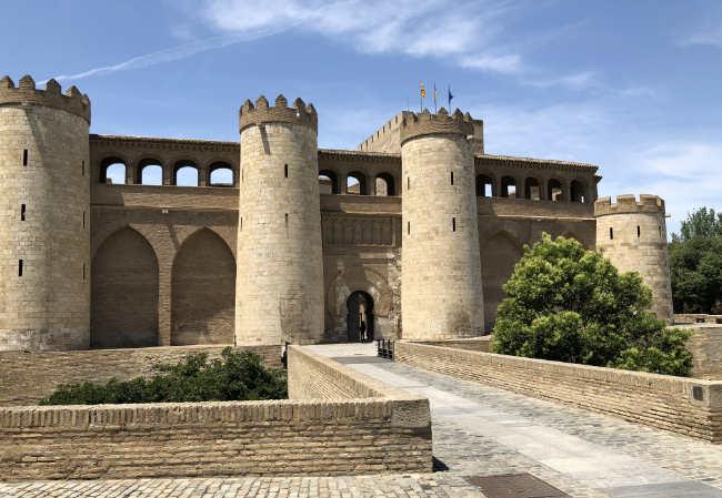 Aljafería-Saragozza-Spagna
