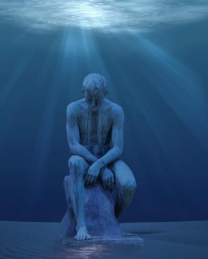 scultura-sottomarina-subacquea-statua